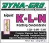 Dyna-Gro. K-L-N root growth promoter. 8 oz. Liquid concentrate. OUT OF STOCK.