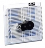 12 in. Direct drive shutter style exhaust fan.