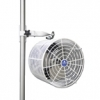 12 in. Tent fan with standard pole mount. FREE SHIPPING
