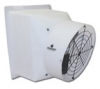 12 in. Direct drive flush-mount style variable speed exhaust fan, 1/3 hp motor