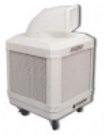 WayCool 1/3 Hp evaporative cooler with fixed direction air flow.